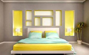 أفضل الوان الديكورات الخاصة بغرف النوم 2021م